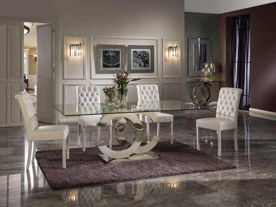 Mesa de Comedor de diseño Chanel Grande - STAR COCINAS ONLINE