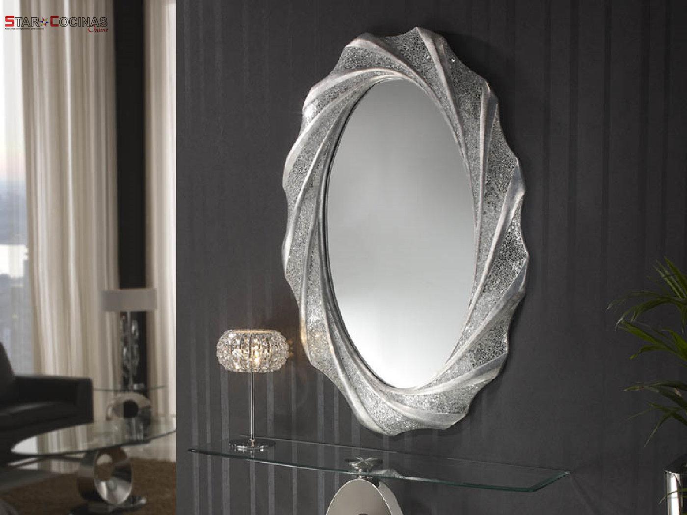 Espejo decorativo Marga Ovalado - STAR COCINAS ONLINE